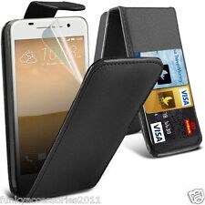 Top Flip Quality Leather Phone Case Cover✔Screen Guard✔HTC One A9