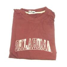 New Mens Official NCAA University of Oklahoma Long Sleeve Jersey Shirt Med Large