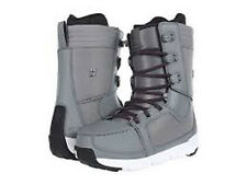 "NEW 2013 Forum The Tramp ""Grey Wash"" mens snowboard boots, 8"