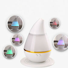 Home USB LED Ultrasonic Aroma Humidifier Air Diffuser Purifier Lonizer Atomizer