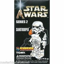 STAR WARS KUBRICK SANDTROOPER SERIES 2 STORMTROOPER TOMY MEDICOM NEW SEALED BOX