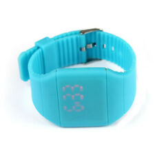 Girl Boy Kid's Sport Waterproof Digital LED Touch Bracelet Wrist Watch Watches