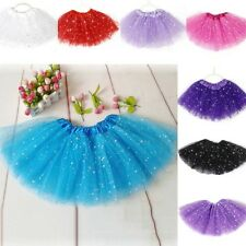 Girl Kids Party Princess Tutu Skirt Ballet Dance Wear Dress Pettiskirt Dancewear