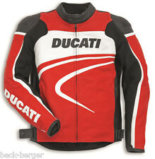 DUCATI Dainese SPORT C2 Leather Jacket Leather Jacket red new