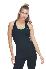 LORNA JANE ADELE EXCEL WOMENS GYM TRAINING SPORTS SINGLET TANK TOP