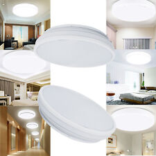 1/2X Bright 18W Round LED SMD Flush Mounted Ceiling Light Downlight Wall Lamp AU