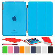 Magnetic Leather Smart Stand Cover Hard Back Case For Apple iPad Air 2 3 Mini 4