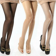 Women's Solid Color Sexy Full Foot Sheer Tights Stocking Panties Pantyhose O30