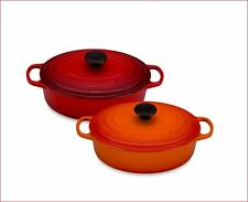 Le Creuset Enameled Cast Iron Pot 3.5 quart Oval Cookware French Oven NEW Colors
