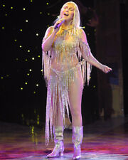 CHER STUNNING IN CONCERT COLOR PHOTO OR POSTER