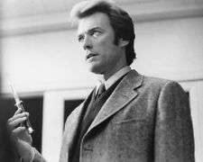 DIRTY HARRY RARE SHOT OF CLINT EASTWOOD B&W PHOTO OR POSTER