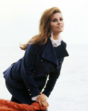 RAQUEL WELCH BLUE JACKET AND OUTFIT ON BEACH PHOTO OR POSTER