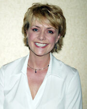 AMANDA TAPPING CANDID SMILING PORTRAIT PHOTO OR POSTER