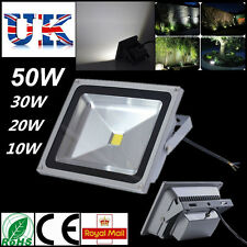 Outdoor Lighting 10/20/30/50W Waterproof IP65 Warm / Cool White LED Floodlight