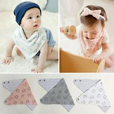 Cute Baby Infant Animal Toddler Cartoon Saliva Towel Waterproof Lunch Bibs H28