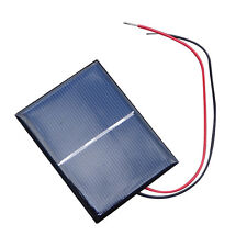 2/4*Lot  0.65W 1.5V 0-300mA Solar Cells for Battery Charger Poly Solar Panel DIY