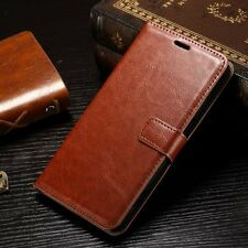 For Microsoft Lumia 950 XL Retro Flip Leather Wallet Case Card Pouch Cover Skin