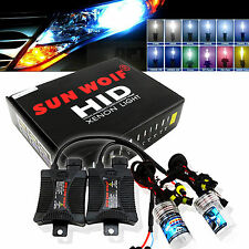 9006 35/55W HID Xenon KIT Slim Bulbs Signle Beam 3000K 5000K 6000K 8000K 10000K