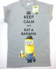 Despicable me Minions womens ladies t shirt top tee Primark UK 6,8,10
