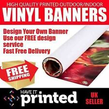 Free Design 510gms PVC Banners Top Quality Advertising Banners Low Price No VAT