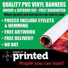 Premium PVC Vinyl Banner Heavy Duty Top Quality Business Advertising Free Design