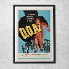 CLASSIC MOVIE POSTER -  D.O.A.  Movie Poster - Retro Movie Poster Classic Film P
