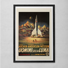 CLASSIC SCIENCE FICTION Wall Art - B-Movie Poster - Rocket Ship Movie Poster Cla