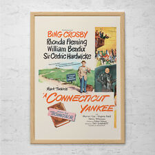 CONNECTICUT YANKEE MOVIE Poster - Retro Movie Ad - Bing Crosby Poster Vintage Fi