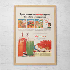 KITSCH KITCHEN AD - Retro Mid-Century Ad - Vintage Kitchen Poster, 1950's Retro