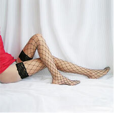 New Sexy Lace boots nylon mesh stockings seduction sexy Large fishnet stockings