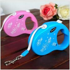 Automatic Retractable Pet Dog/CatPuppy Traction Rope Walking Lead Leash PinkBlue