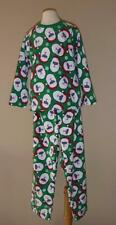 Boys The Children's Place FLEECE PAJAMAS PJ Size 5/6 7/8 NWT Santa Xmas green