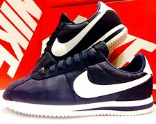 Nike Cortez Basic Nylon Obsidian Navy White 819720 411 Athletic Sneakers Men's