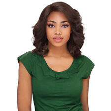 Sensationnel Synthetic Hair Empress Natural Curved Part Lace Front Wig - CRYSTAL