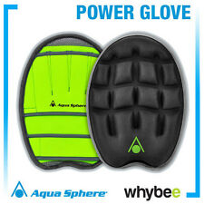 AQUA SPHERE POWER GLOVE SWIMMING TRAINING ACCESSORY SWIMMING EQUIPMENT NEW 2015