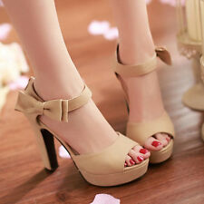 2016 New Womens fashion open toe high heel platform stiletto Sandals party Shoes