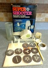 Wear-Ever Super Shooter Electric Cookie Canape Candy Maker Vintage Press 70001