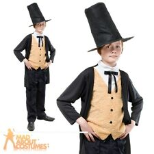 Child Victorian Gent Costume Boys Edwardian Book Week Day Fancy Dress Outfit