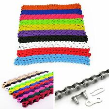 Multi-Color Replaceable Bike Chain Gear Track Single Speed Chains Accessories