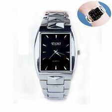 Women Mens Fashion Stainless Steel Sport Analog Quartz Wrist Watch Wristwatch