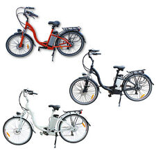PEDAL ASSISTED Electric Bicycle Folding Aluminum Mountain Bike E BIKE  250W 26''