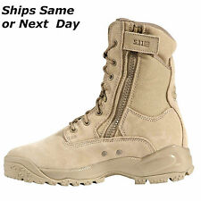 "NEW! Men's 5.11 Tactical ATAC 8"" Boot Coyote - Boots  Choose size - Beige Tan"