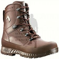 Haix MTP Combat Boots British Army Surplus Leather Brown Military Boots