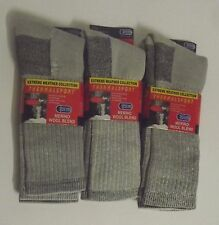 Merino Wool Blend Thermal Hiking Socks 6 Pairs Of Mens Sock Size 10-13 The Best