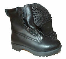 British Army Pro Boots Surplus Goretex Black Leather Military Combat Boots