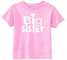 Lil Shirts Little Girls Big Sister Toddler Graphic Tee