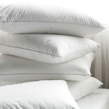 Authentic Avely Goose Down Feather Bed Pillows 300 Thread Ct 2pcs King Size