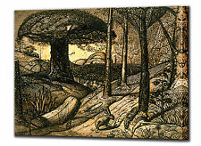 Early Morning Canvas Print Framed by Samuel Palmer  Wall Art Picture