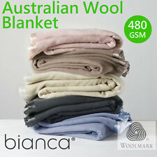 Australian Wool Blanket by BIanca | All Sizes | All Colours