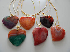 Dragon Veins Agate & Druzy Geode Necklaces  Expedited Shipping Available